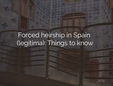 forced heirship spain