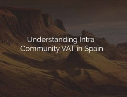 intra community vat in spain