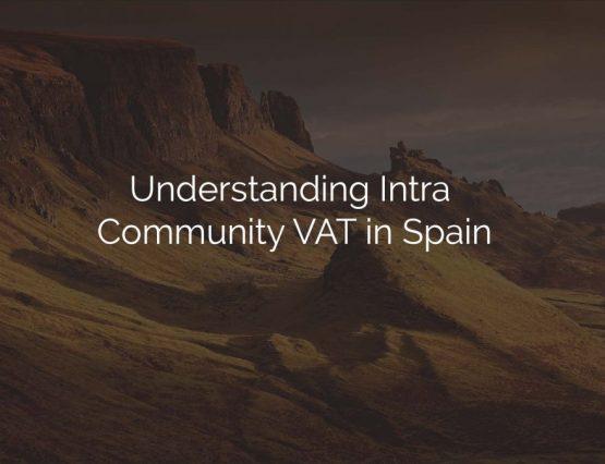 intra community vat in spain